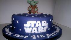 Yoda Birthday Cake by LizzieQ Creations, via Flickr