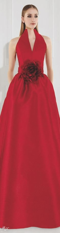 Patricia Avendaño Fiori Collection Beautiful Gowns, Beautiful Outfits, Cool Outfits, Zuhair Murad, Red Fashion, Girl Fashion, Ralph Lauren, Lady In Red, Dress To Impress