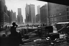A steelworker takes a break during construction of the World Trade Center in 1969. Photo by Meyer Liebowitz/The New York Times