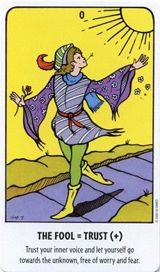 Fool card from the Tell-Me Tarot