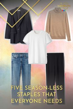 These staples can go from season to season, be dressed up or down, and always make you feel put together in a pinch. Every Woman, Must Haves, Dress Up, Stylists, Seasons, Classic, Summer, How To Make, Women