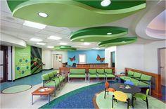 Pediatric Office waiting room Interior Design