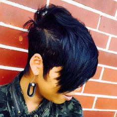 Reggie on houston tx and surrounding area you asked and i m about to share all my short hair knowledge april 11 2016 it s goin down pixie cut jade laurice on baby face glitter from itsinyourdreams Dope Hairstyles, Short Black Hairstyles, My Hairstyle, Black Pixie Haircut, 27 Piece Hairstyles, Braided Hairstyles, Short Sassy Hair, Short Hair Cuts, Short Hair Styles