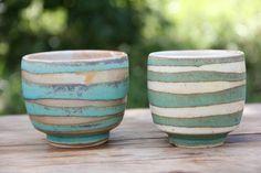 Covington Pottery-wax resist technique