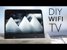 Build your own portable SMART TV (100% wireless!) - YouTube