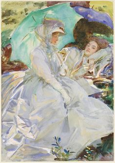 Can't wait to see this John Singer Sargent Watercolors exhibit...!