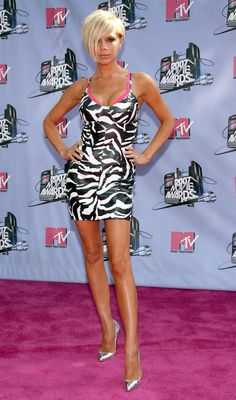 back in the mid-'00s, Victoria was all about zebra-print mini-dresses and bright pink bra straps.