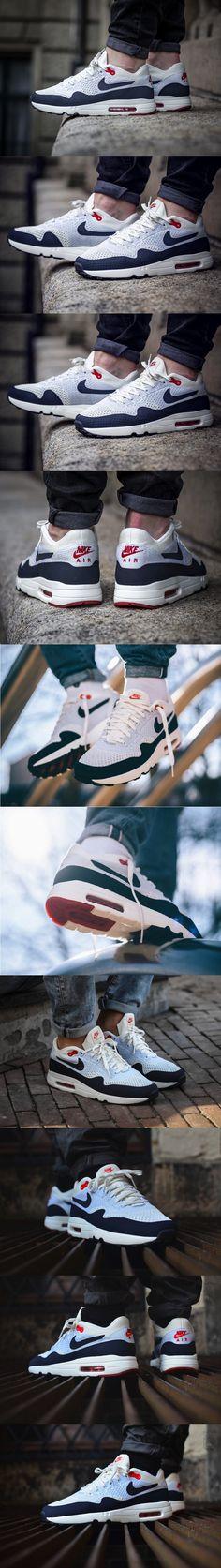 #Nike #Air #Max 1 #Ultra 2.0 #Flyknit OG #Obsidian