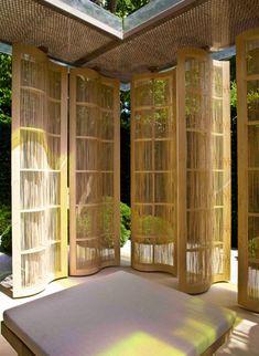 Kengo Kuma Pavilion for Luciano Giubbilei Chelsea Flower Show