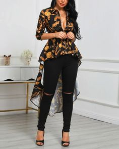 Women's Fashion Tops Online Shopping – Chic Me Trend Fashion, Fashion Outfits, Fall Fashion, Style Fashion, Fashion Ideas, Cheap Fashion, Latest Fashion Trends, High Fashion, Applis Photo