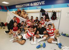 Japan beat South Africa in greatest Rugby World Cup shock ever – in pictures
