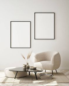 Hipster Living Rooms, Wedding Photo Walls, Gallery Wall Layout, Empty Frames, Canvas Wall Decor, Minimalist Decor, Mockup, Ss, Therapy