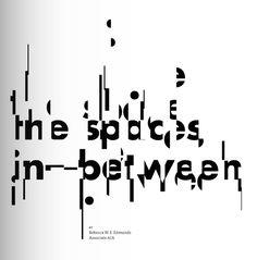 """""""Spaces in Between"""""""
