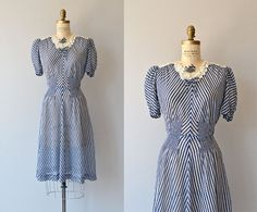 Part+and+Parcel+dress++vintage+1930s+dress++rayon+by+DearGolden