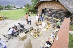 Summer School, Construction, Outdoor Decor, Pictures, Building