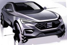 Seat suv#doodle#carsketch Car Design Sketch, Car Sketch, Electric Pickup Truck, Presentation Layout, Car Drawings, Cool Sketches, Transportation Design, Mobile Design, Automotive Design
