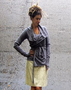 I just love Gaia Conceptions clothing. I have four items from them. Comfy and stylish, chilled out outfit.