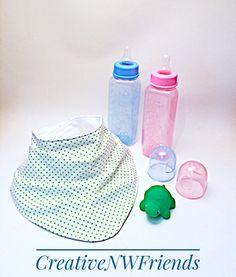 Spring Summer Baby Fashion Polka Dot Bandana Bibs Etsy shop https://www.etsy.com/listing/503479204/baby-bib-bandana-bib-bibdana-drool-bib