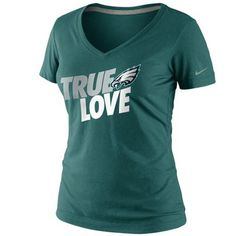Nike Philadelphia Eagles Women's Big Logo Tri-Blend Tank - White ...