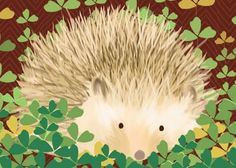 Oopsy Daisy - Henry the Hedgehog Canvas Wall Art Meghann O'Hara Hedgehog Animal, Hedgehog Art, Baby Wall Art, Canvas Wall Art, Happy Hedgehog, Daisy, Animal Art Prints, Woodland Animals, Woodland Creatures