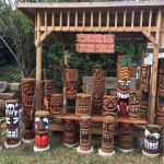 Anyone wants a tiki carving? multiple looks and all are hand carved-Florida's Premier Custom Tiki Hut Builder ,Florida Tiki Hut Builder, Builder of Chickee Huts and Thatch Roofs, www.Monstertikihuts.com Can build you any residential and commercial project.Visit http://www.monstertikihuts.com or Call 855-622-8454 For Free Quotes and Information for all tiki hut construction, tiki hut repairs & tiki hut rethatching!