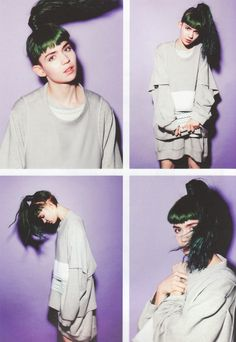 Grimes, Yen Magazine Issue 60 2012/2013 #hair