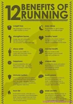 12 Benefits of Running - #fitness #workout #fit