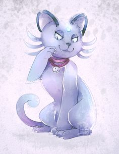 Pokemon Sun/Moon :: Alolan Persian by LogicalLoony on DeviantArt