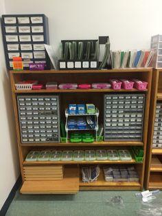 Montessori Lower Elementary Charter Phonics Shelves