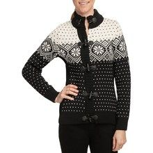 Dale of Norway Stjerne Sweater - Merino Wool (For Women) in Black/Off White - Closeouts