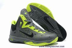the best attitude d81be 9e66e Nouveau Nike Zoom Hyperchaos X Cool Gris Vert Noir 536845-003 Kevin Durant  Basketball Shoes