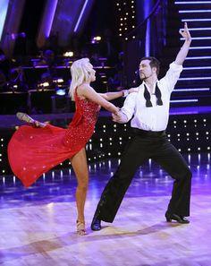 Kym Johnson & Joey Fatone dancing Rumba