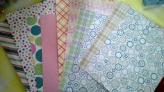 Just a few samples of the paper...I've got MANY more!!!♥♥♥