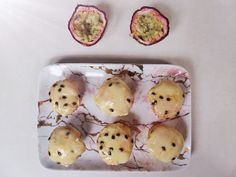 Passion fruit cupcakes- Gluten and dairy free