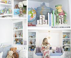 Molly Sims Nursery Designed by Layla Grayce. #laylagrayce #lgblog