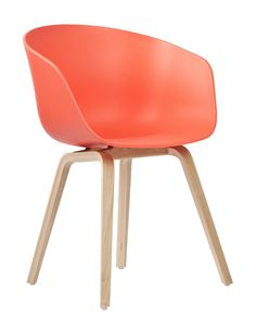 Fauteuil about a chair  - Corail - Hay
