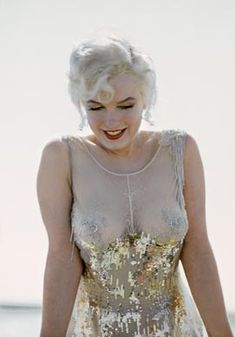 "Marilyn Monroe in ""Some Like it Hot.""  It's amazing that this dress passed 1959 censors."