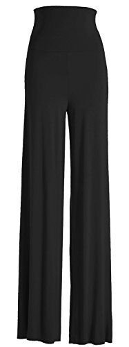 VIV Collection Women's Solid Wide Leg Palazzo Soho Gaucho Pants (Medium, Black) VIV Collection http://smile.amazon.com/dp/B00IIZ5QXU/ref=cm_sw_r_pi_dp_iAGAub0K9G0A6