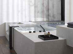 DEQUE / Bath & Spa - minimalist white matte