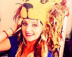 Evanna Lynch -- I loved this hat when I saw it in the movie, and she's such a great actress. Hat = my style!!
