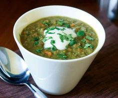 Curried Lentil Soup by Fine Cooking
