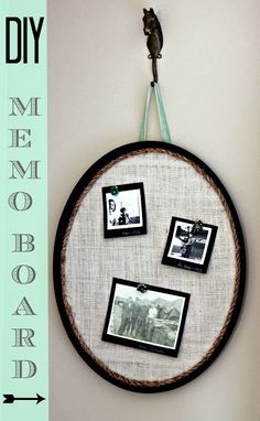 DIY Projects | Turn a thrift store find into a DIY memo board!