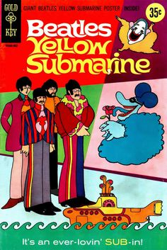 The Beatles Yellow Submarine 1968 comic book