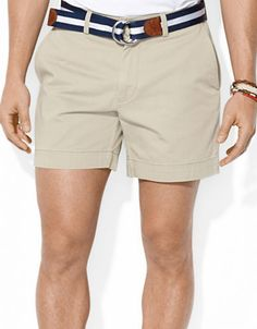 $69, Polo Ralph Lauren Classic Fit Flat Front Chino Shorts. Sold by Lord