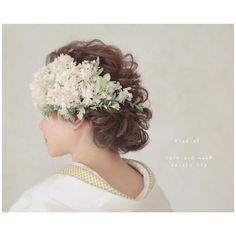 sayaka ito(studio8/hairmake)さんはInstagramを利用しています:「: : : アジサイとグリーン^ ^ : : hair&make:sayaka ito : photo:satoko mochizuki : ご新婦様のイメージに合わせてヘアメイクさせて頂きます。色々ご提案もさせて頂きます!お気軽にご相談くださいませ(^^) :…」