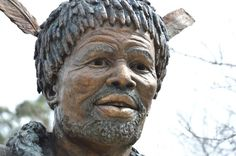 Swazi King Sobhuza (Somhlolo) 1 - 3m high bronze sculpture - completed, ready to be transported to Swaziland