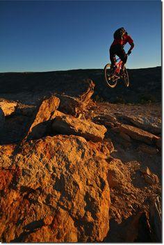 Mountain Biking - 29er Action Shot