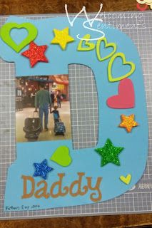 Father's Day gift, craft.  Daddy, dad, fathers day