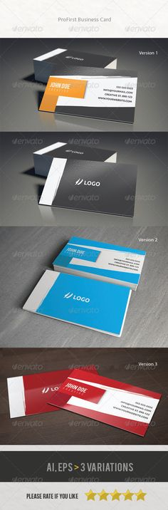 Hi! Files includes: ¡¤ Business Card (3,52) ¡¤ Editable files (.AI and .EPS) ¡¤ 300 dpi, CMYK (print ready) ¡¤ With bleed and trim gui