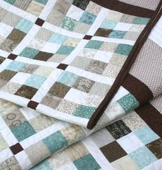 Jelly Roll Quilt Pattern PDF 5 sizes Crib to King by MackandMabel. $8.00.